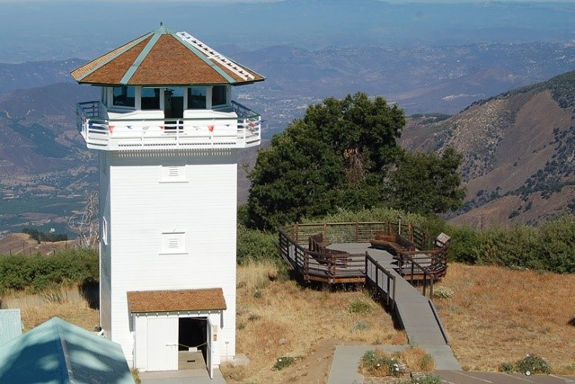July 29, 2013 photo of restored lookout