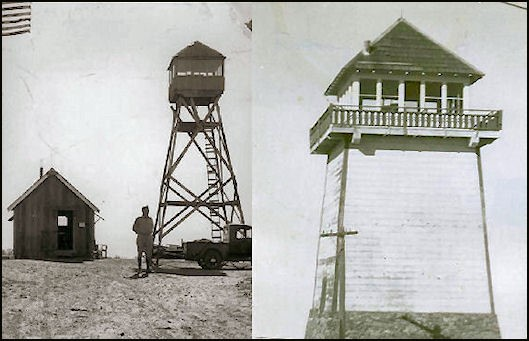 Tower in 1920 and 1934