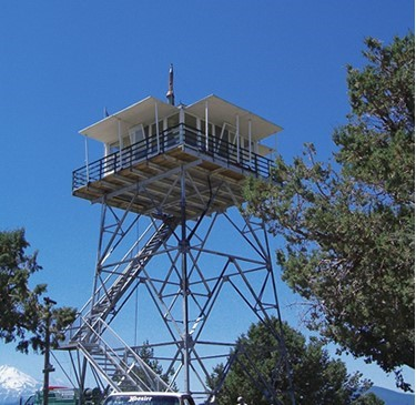 U.S. Forest Service photo of Orr Mountain Lookout