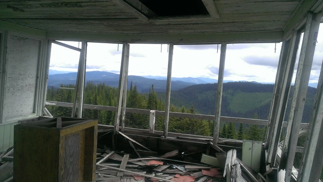 Spyglass Lookout in 2013. Photo by Luke Channer.
