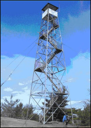 Mount Pisgah Fire Tower National Historic Lookout Register