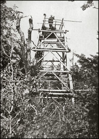 1910--1905 Wood Tower (NYS-DEC photo, courtesy Bill Starr)