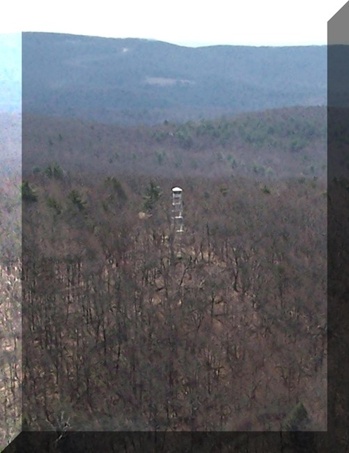Beebe Hill Fire Tower flyover 4-18-09 by Bill Starr
