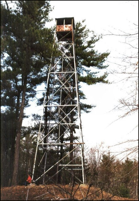 Tower before restoration (2003)