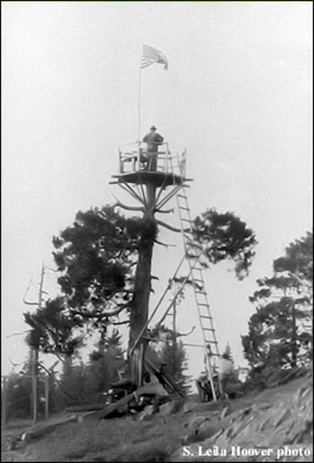 Crows nest in 1924