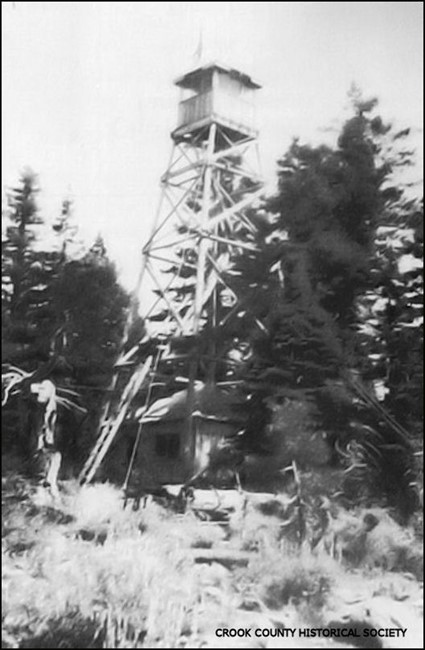 First tower in 1925
