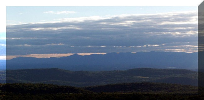 View of Catskill Mountains 9/16/2007